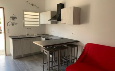 6ème KM – Appartement F2 meublé