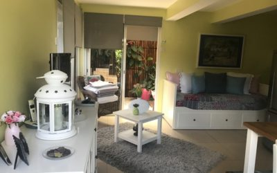 7ème KM – Appartement F2 Rez de jardin